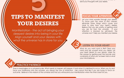 Manifest Your Desires In These 5 Steps